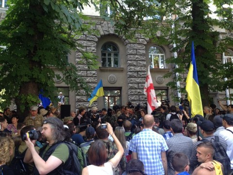 Statement of the Donbas, Dnipro & Aydar Volunteer Batallions to the President of Ukraine