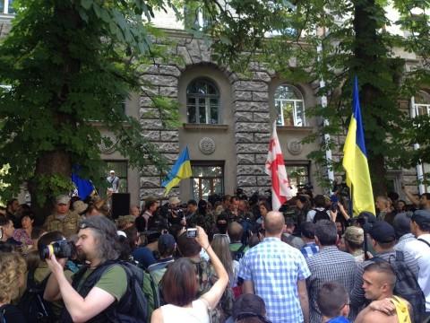 Statement of the Donbas, Dnipro & Aydar Volunteer Batallions to the President of Ukraine