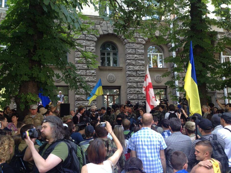 statement of the donbas dnipro aydar volunteer batallions to the president of ukraine