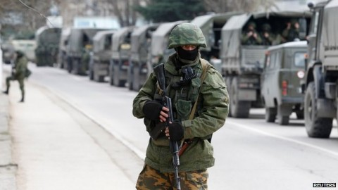 More Russian troops in Crimea would undermine Ukraine ceasefire – NATO