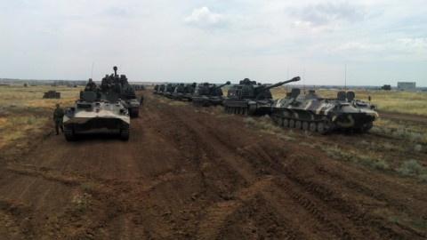 Russian armed forces military units and the armament in Ukraine
