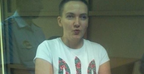 Nadiya Savchenko has been taken for psychological expertise
