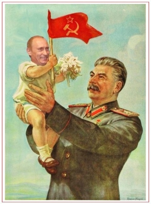 The Devil gas station – Ukraine congratulates Putin with cartoon competition