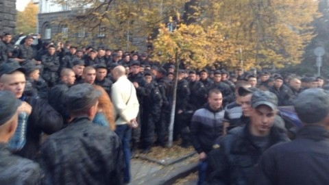 Сonscripts' rally near President Administration was organized by FSB