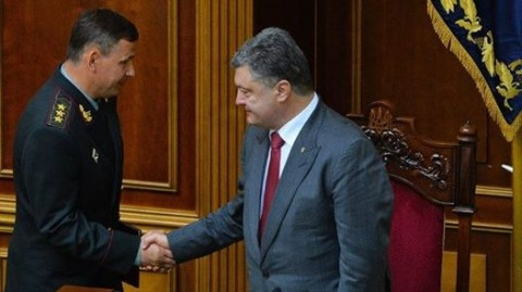 Poroshenko does not recognize former defence minister responsible for Ilovaisk Massacre