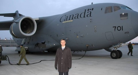 First cargo plane from Canada with military aid is on the way to Ukraine