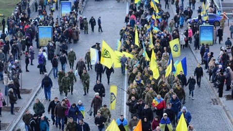 Euromaidan self defense units March