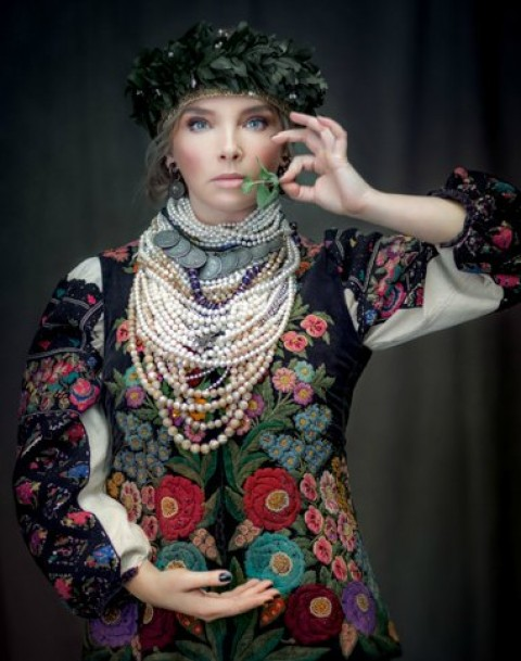 "Ukrainian Beauty: Fashion project ""Shchyri"""