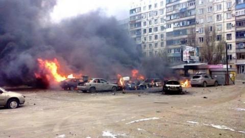 Мариуполь был обстрелян российскими террористами – простое доказательство
