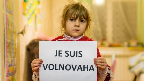 #JeSuisVolnovakha: Russian terrorists kill 12 civilians in eastern Ukraine
