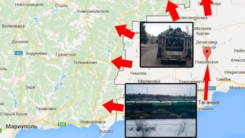 How armor gets from Russia to Donetsk – MAP