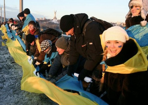Ukraine united: Act Zluky and Ukraine's Unity Day