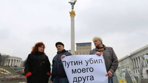Na Majdanie w Kijowie wspominają Borysa Niemcowa