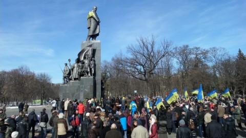 Journée de deuil à Kharkiv