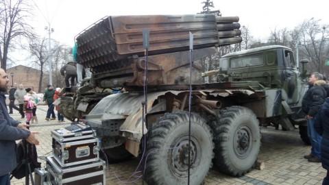 В Киеве продемонстрировали доказательства присутствия российского следа в конфликте на Донбассе