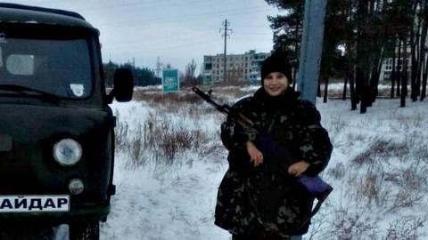 Елизавета, солдат Украины