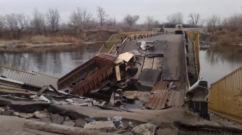Группа российских боевиков пыталась прорваться в Трехизбенку