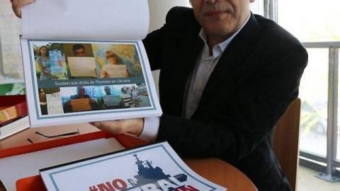 """Communiqué De Presse – """"No Mistrals For Putin"""": Des Selfies D'opposants Pour L'Elysée"""
