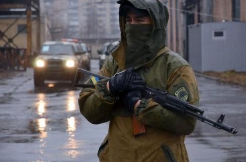 """Session d'entraînement dans le camp du bataillon """"Azov"""""""