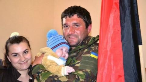 Powrót do domu z wojny na wschodzie Ukrainy