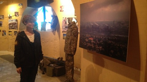 Defending Mariupol: activists set up exhibition to show life of the city in the face of Russian aggression