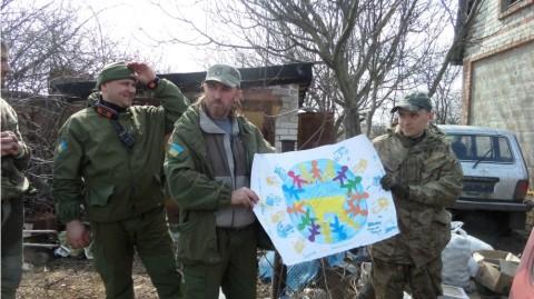 De Kyiv- Au front. Deux jours avec les bénévoles sur la ligne de front