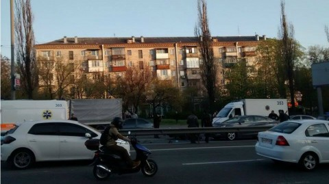 ДТП в центре Киева