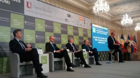 Les valeurs comme le chemin vers la Liberté. L'ouverture du Forum de Kiev sur la Sécurité