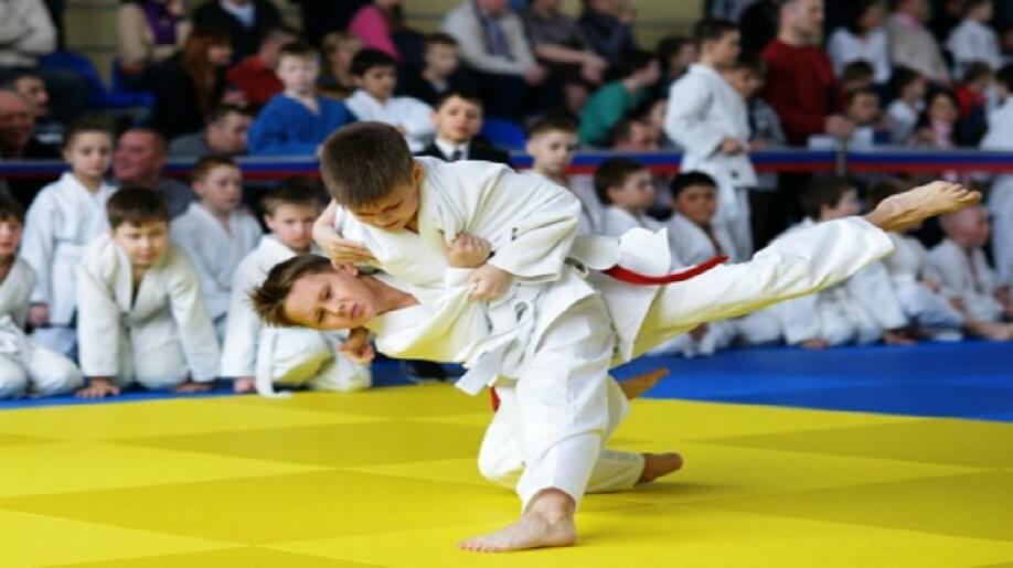 Первый Международный турнир «МИР» по дзюдо среди детей