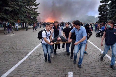 Второе мая: что на самом деле произошло в Одессе (Видео)
