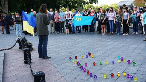 Odessa commemorated deportation of Crimean Tatars