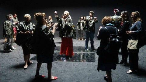 How Ukrainians in khaki uniforms took over the Russian pavilion at the Biennale