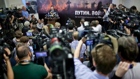 Opublikowany odczyt Niemcowa : Putin. Wojna