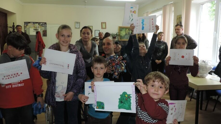 social project for ukrainian children with disabilities embroidered dreams strives to encourage creativity in children whose health is compromised