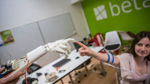 Three prototypes of robotized arm were created in Lviv (Video)