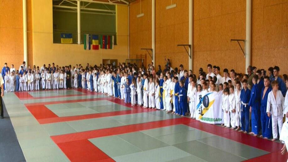 Ukraine hosts first International Judo tournament for children