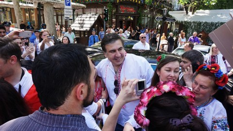 Saakashvili appointed as the Odessa oblast governor
