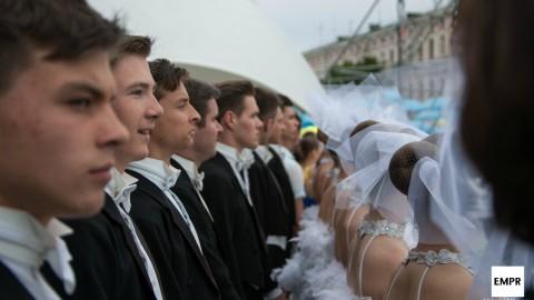 The capital of Ukraine celebrates its birthday