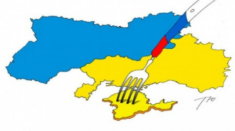 "Official statement of terroristic DPR and LPR: ""Crimea is Ukraine"""