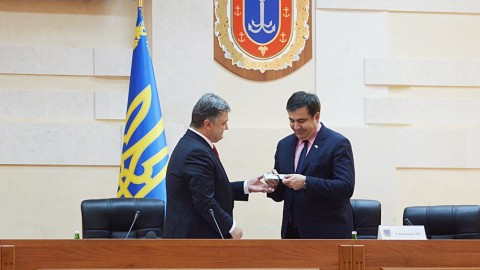 Georgia ex-president Mikheil Saakashvili becomes governor of Odessa