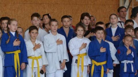 """L' Ukraine accueille le premier Tournoi International de Judo pour les enfants – un tournoi dénommé """"Paix"""""""