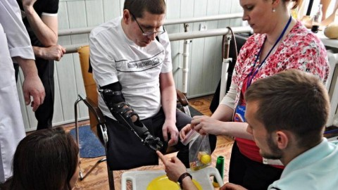 U.S. and Canadian prosthetists share experience with Ukrainian colleagues