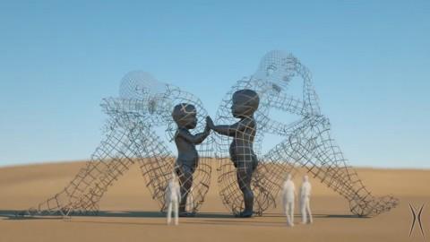 Ukraine's LOVE to rock US Burning Man