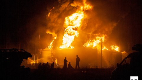 Fire in Kyiv suburbs: new details