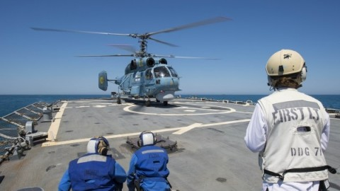 Russia responds to the US-Ukraine joint military exercises in the Black Sea