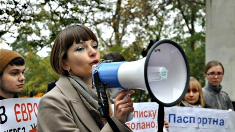 Oleksandra Matvichuk: We found death sentences in eastern Ukraine