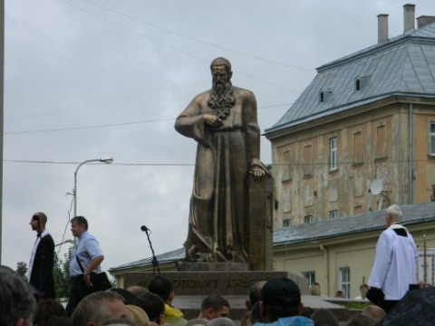 Metropolitan Andriy Sheptytsky monument unveiled in Lviv