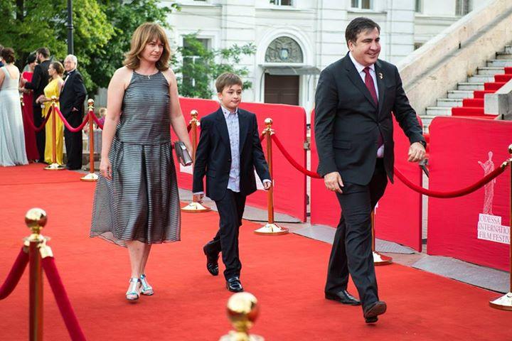 OIFF Saakashvili