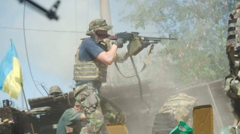 Photo exhibition on Ilovaysk battle opens in Kyiv