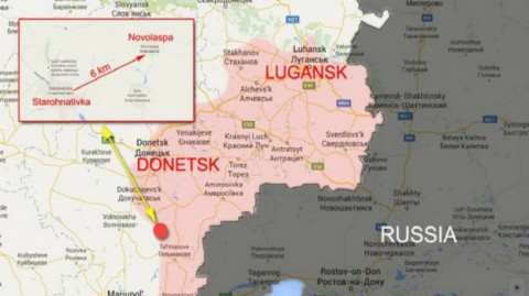 Inaccuracies about today's battle in the war zone in eastern Ukraine